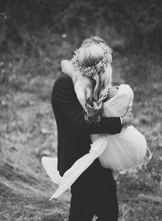 Schönes Hochzeitsfoto.