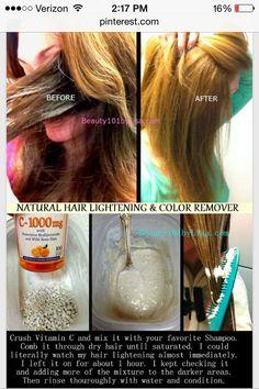 """"""" How To Naturally Lighten Your Hair """" #Beauty #Trusper #Tip"""