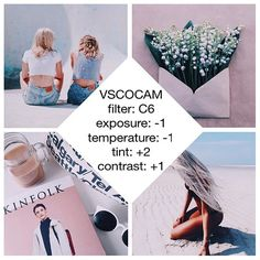VSCO filter for tumblr themes