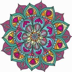 vinilo decorativo mandala gigante 100cm color personalizable