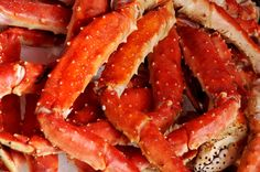 i would give 423738291 dollars at any given time for crab legs. - Great Deals at www.AlaskaKingCrabs.com