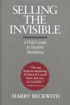 "Like it or not, we are all selling something--ideas, services, our skills, our ideology, etc. Here's a book that tells you how to be even better at it. If you can ""sell the invisible,"" you can sell anything!"