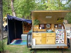 vacations in a can = teardrop & vintage trailers