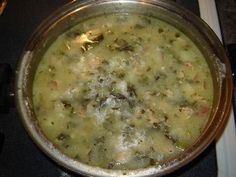 low fat Zuppa Toscana using Greek yogurt!