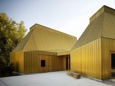 Metal sheet and panel for facade TECU® Brass TECU® Collection by KME Italy S.p.A. - ARCHITECTURAL SOLUTIONS