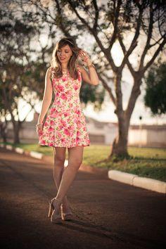 Look do dia: Floral  #TaciAlcolea
