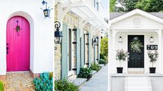Spotted!  Our Modern House Numbers in Domaine Home's: 8 Inspiring Ways to Amp Up Your Curb Appeal