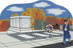 Tomb Of The Unknowns | The Cat's Meow Village