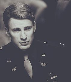 """Captain Steve Rogers, nobody's favorite Avenger lol""  Whoever said that is crazy. Who DOESN'T love Captain America?!"