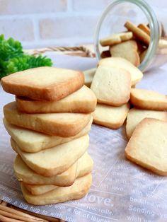 フォールディングベッド Oliver in 2020 Sweets Recipes, Cookie Recipes, Bread Recipes, Desserts, Japanese Sweet, Sweets Cake, Shortbread Cookies, Cooking With Kids, Confectionery