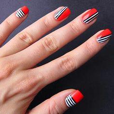 Colorful Nail Designs: 40 Colorful Nail Designs for Short Nails