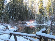 Lake Creek at Suttle Lake near Sisters, Oregon