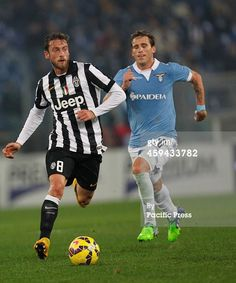 Claudio Marchisio in action during the Italian...