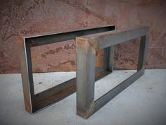 Metal Table Legs Angle by SteelImpression on Etsy, $160.00