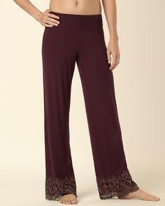bec47a9618 Soma Intimates Embraceable Scroll Lace Pant Merlot  somaintimates   MySomaWishList