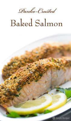 easy crunchy mustard baked salmon recipes dishmaps easy crunchy ...