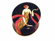 1920s Art Deco Powder Box