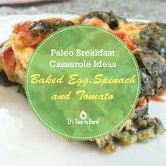 Paleo breakfast casseroles are always a winner. I love this veggie take on a classic baked egg casserole – the key to its deliciousness is the complete simplicity of making it. Paleo Diet Plan, Paleo Meals, Paleo Recipes, Egg Bake Casserole, Paleo Breakfast Casserole, Baked Eggs, Casseroles, Spinach, Meal Planning