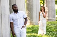 Fisk University Love Engagement Session - Black Southern Belle