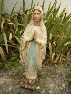 Antique French Virgin Mary