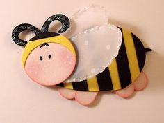 baby bumble bee with stampin up punches