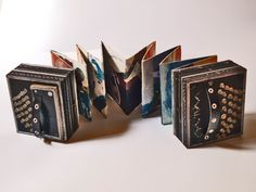 Libro Objeto Ejemplo Poesia Visual, Book Binding, Handmade Design, Altered Books, Tango, Book Art, Editorial, Bs As, Pop