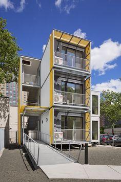 Prototipo de vivienda de emergencia para la ciudad de New York