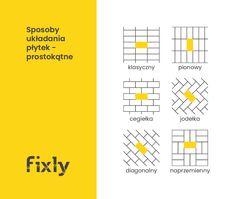 16 sposobów na układanie płytek [wzory] - Blog Fixly.pl Diagram, Blog, Blogging