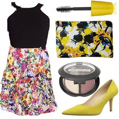 Floral Skirts and Design-Style Spacez - Outfit Ideas Fall - Summer