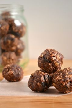 Chocolate No-Bake Energy Bites
