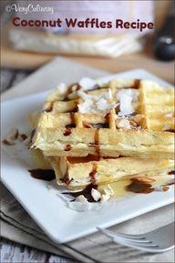 Coconut Waffles | Ve