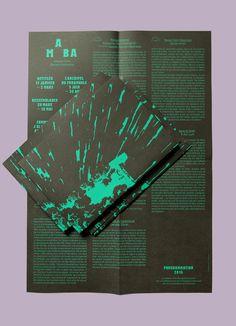 Exhibitions season, MABA (Poster), 2014.