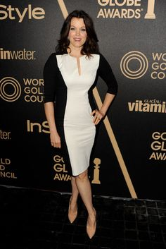 Bellamy Young Photos: The Hollywood Foreign Press Association (HFPA) And InStyle Celebrate The 2013 Golden Globe Awards Season