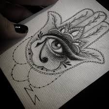 Resultado de imagen para hamsa tattoo