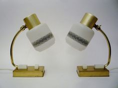 Pair of Mid Century Bedside Lamps by oppning on Etsy, €78.00