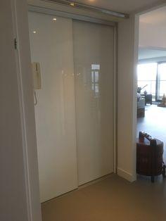 Stalen schuifdeuren, deuren, zwart, aluminium, staalzwart, woonkamer ...