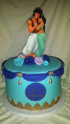 bolos decorados aladim 4
