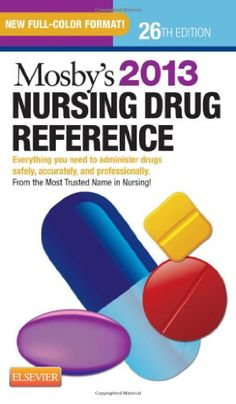 """With a new full-color interior and A-Z organization, """"Mosby's Nursing Drug Reference"""" offers the latest, most comprehensive coverage of over generic and trade-name drugs - all in the most easy-to-find format! Nursing School Memes, Nursing Schools, Student Info, Nursing Books, Nicu Nursing, Pharmacology Nursing, Great Books To Read, Nurse Life, Any Book"""