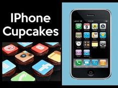 Make an IPhone Cupcake Cake! Social Media Cupcakes - Learn how to make these delicious treats, and heaps more at Mycupcakeaddiction!