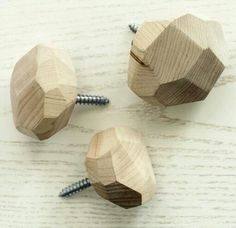 The drawer pulls my husband is to make