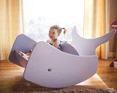 Baleine d'un temps Double chaise berçante livraison gratuite