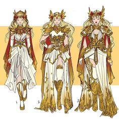 She-Ra-Hannah Alexander Artwork Fantasy Character Design, Character Design Inspiration, Character Concept, Character Art, Image Fairy Tail, Arte Sailor Moon, 3d Fantasy, She Ra Princess Of Power, Drawing Clothes