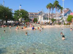 The Most Amazing Pools at Disney World Resorts: Disney's Yacht Club and Beach Club Resorts