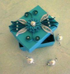 Petite boîte à bijoux quilling modeles sur site