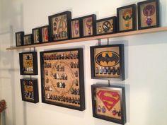 Lego minifigures display - Imgur
