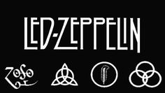 Hands down, best band to walk the earth. Jimmy Page is why I play guitar. I even have the symbol on the far left tattooed on my shoulder. Kinds Of Music, Music Love, Music Is Life, My Music, Led Zeppelin Tattoo, Band Logos, My Favorite Music, Favorite Things, Playing Guitar