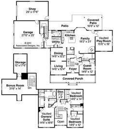Ambrosia 30-752 floor plan from Associated Designs