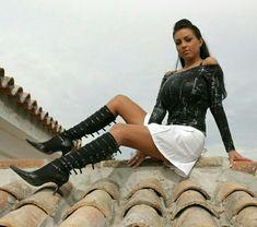 Ewa Sonnet - roof - reclining pose