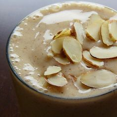 A Sweet Almond Milkshake Recipe for Breakfast or a Healthy Dairy-Free Dessert - Go Dairy Free