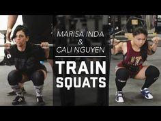 Marisa Inda & Cali Nguyen Squat Training | JTSstrength.com - YouTube
